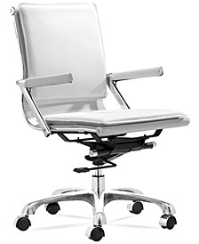 Brayden Plus Faux Leather Office Chair, Quick Ship