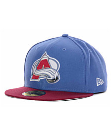 New Era Colorado Avalanche Basic 59FIFTY Cap