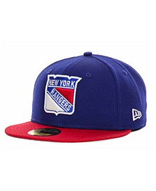 New York Rangers Basic 59FIFTY Cap
