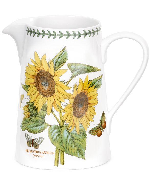 Portmeirion Dinnerware Botanic Garden Sunflower Bella Jug