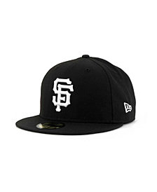 New Era San Francisco Giants MLB B-Dub 59FIFTY Cap