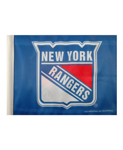 Rico Industries New York Rangers Car Flag