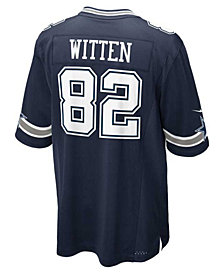 Nike Kids' Jason Witten Dallas Cowboys Game Jersey, Big Boys (8-20)