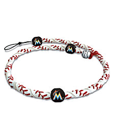 Game Wear Miami Marlins Frozen Rope Necklace