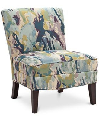 coryn fabric accent chair quick ship furniture