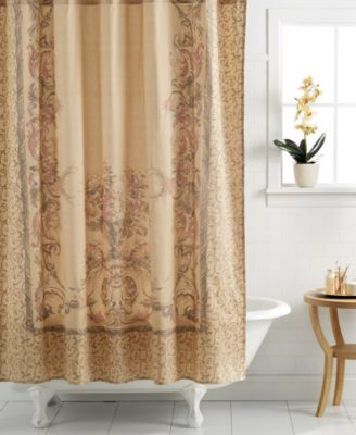 croscill normandy shower curtain - shower curtains - bed & bath