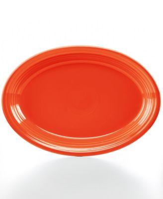 "Poppy 13"" Oval Platter"