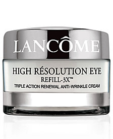 Lancôme High Résolution Refill-3X Anti-Wrinkle Eye Cream, 0.5 oz