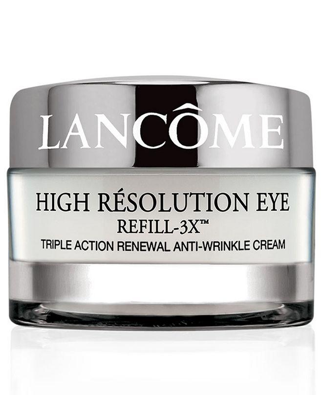 Lancome High Résolution Refill-3X Anti-Wrinkle Eye Cream, 0.5 oz