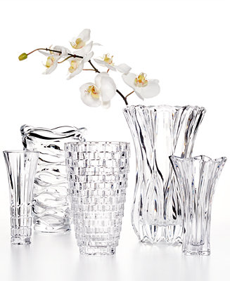 Mikasa Crystal Vase Collection Bowls Amp Vases For The