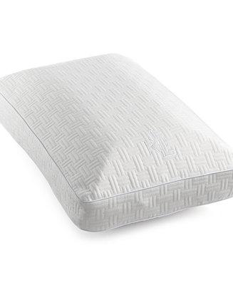 lauren ralph lauren closeout latex fusion memory foam gusseted pillow crystalline odor free. Black Bedroom Furniture Sets. Home Design Ideas