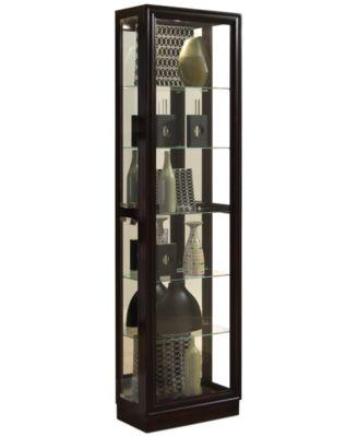 Dark Wood Curio Cabinets and China Cabinets - Macy's