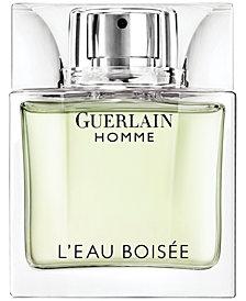 Guerlain Homme L'Eau Boisée Men's Eau de Toilette Spray, 3.3 oz