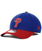 buy online e47cc 1eebc New Era Philadelphia Phillies MLB Team Classic 39THIRTY Stretch-Fitted Cap