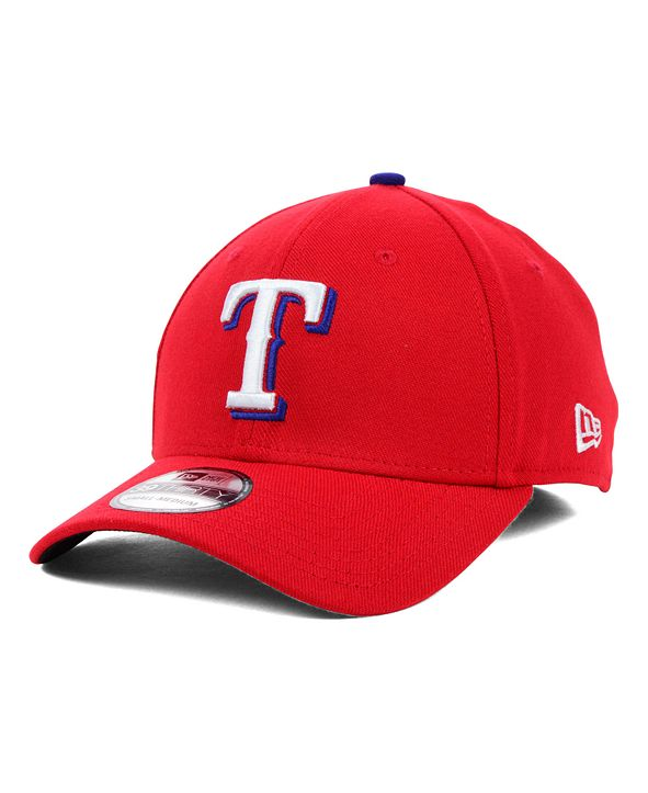 New Era Texas Rangers MLB Team Classic 39THIRTY Stretch-Fitted Cap