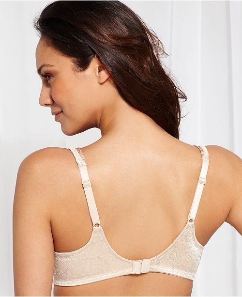 Vanity Fair Body Shine Floral Full Coverage Underwire Bra 75297 All Bras Women Macy S