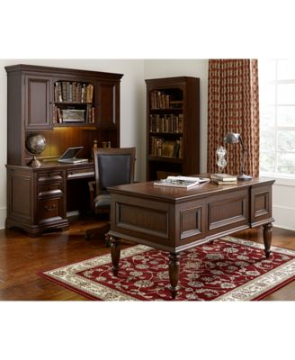 Furniture Cambridge Home Office Furniture, 3 Piece Set (Executive Desk, Credenza  Desk And Desk Hutch)   Furniture   Macyu0027s