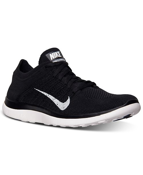 Nike Men s Free Flyknit 4.0 Running Sneakers from Finish Line ...