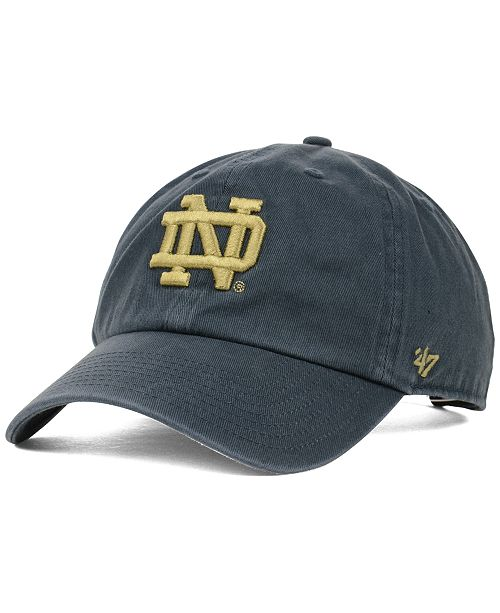 5b6954dc301e99 47 Brand Notre Dame Fighting Irish Clean-Up Cap & Reviews - Sports ...