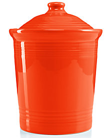 Fiesta Poppy Medium Canister