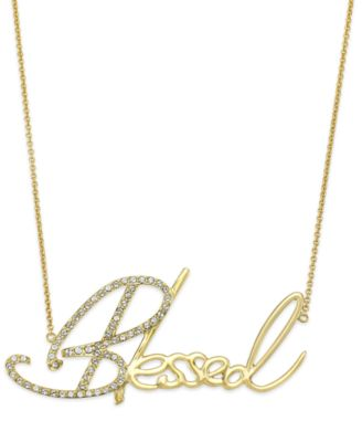 Necklaces at Macy's