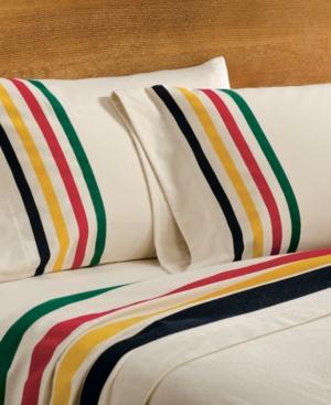 Pendleton Cotton Flannel Twin Sheet Set Bedding