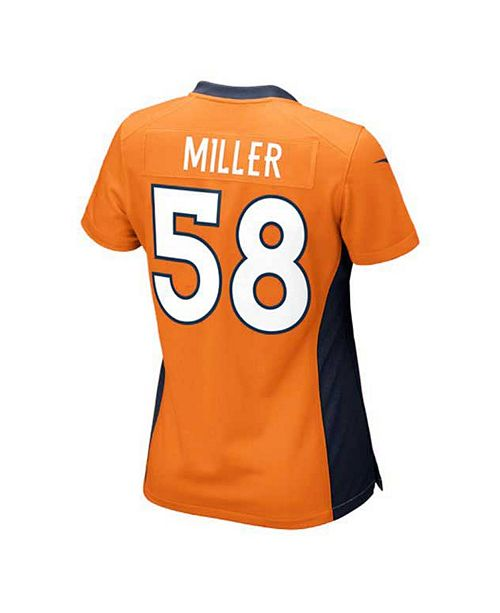 1dde0170b Nike Women s Von Miller Denver Broncos Game Jersey   Reviews ...