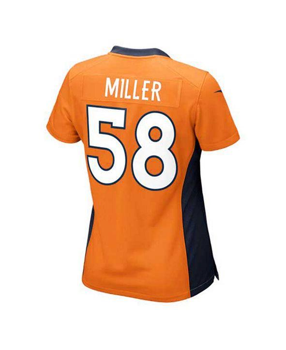 Nike Women's Von Miller Denver Broncos Game Jersey