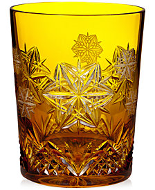 Waterford Snowflake Wishes Peace Prestige Double Old Fashioned Glass
