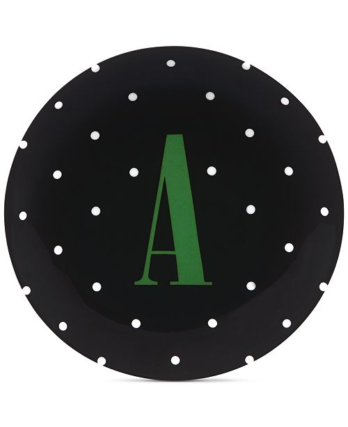 kate spade new york CLOSEOUT! Monogram Dish Collection