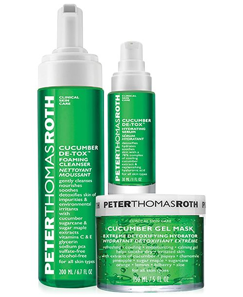Peter Thomas Roth Cucumber Collection