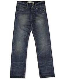 Levi's® 514 Straight Fit Jeans, Big Boys