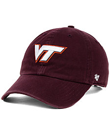 '47 Brand Virginia Tech Hokies NCAA Clean-Up Cap