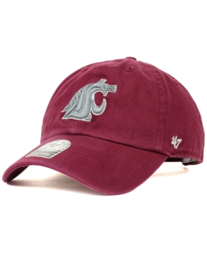 '47 Brand Washington State Cougars Ncaa Clean-Up Cap
