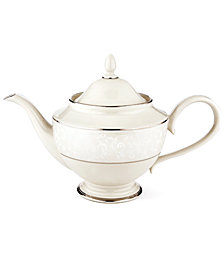 Lenox Pearl Innocence Teapot