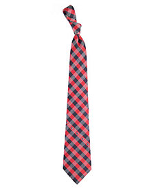 Eagles Wings Houston Texans Checked Tie
