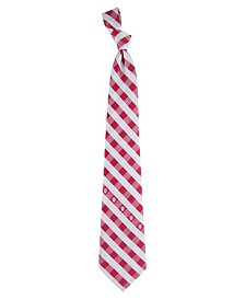 Eagles Wings Indiana Hoosiers Checked Tie