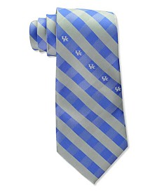 Eagles Wings Kentucky Wildcats Checked Tie