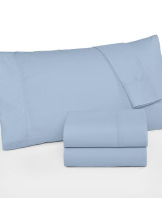 martha stewart collection california king 4pc sheet set 360 thread count cotton percale - Cal King Sheets