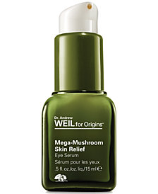 Dr. Andrew Weil for Origins Mega-Mushroom Skin Relief Eye Serum, 0.5 fl. oz.