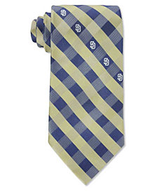 Eagles Wings San Diego Padres Checked Tie