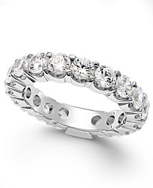Diamond Sizable Prong Eternity Band in 14k White Gold (3 ct. t.w.)