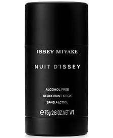 Issey Miyake Men's Nuit d'Issey Deodorant, 2.6 oz