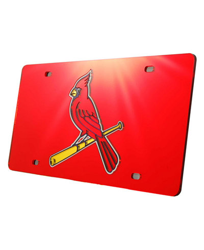 Rico Industries St. Louis Cardinals Laser Tag License Plate