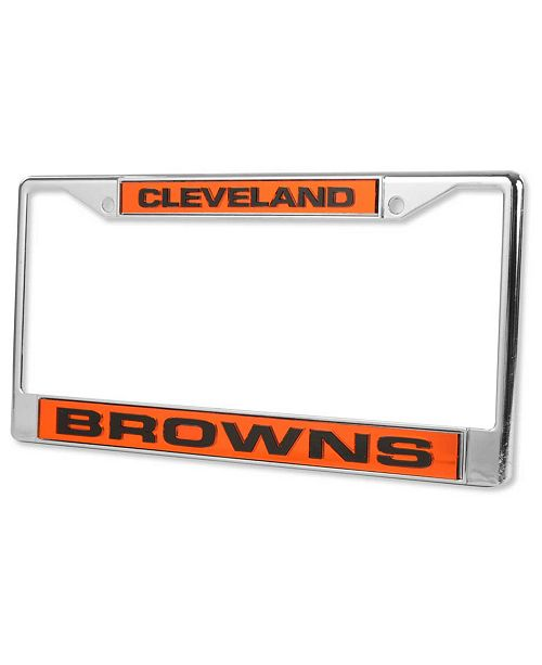 Rico Industries Cleveland Browns License Plate Frame - Sports Fan ...