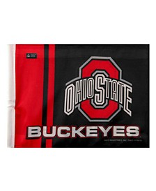 Ohio State Buckeyes Car Flag