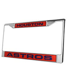 Houston Astros License Plate Frame