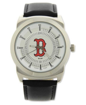 Game Time Pro Men's Boston Red Sox Vintage Watch