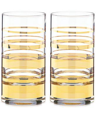 Hampton Street Set of 2 Highball Glasses