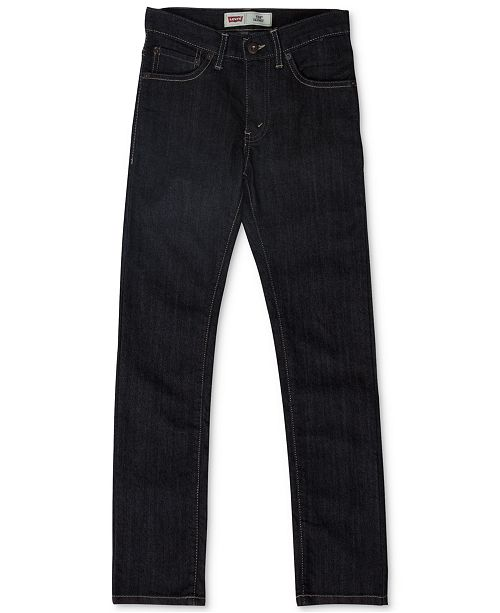 2cd80868b Levi's 510™ Skinny Fit Jeans, Big Boys & Reviews - Jeans - Kids - Macy's